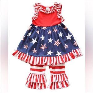 Other - 🇺🇸LAST CHANCE🇺🇸 NWT Patriotic outfit